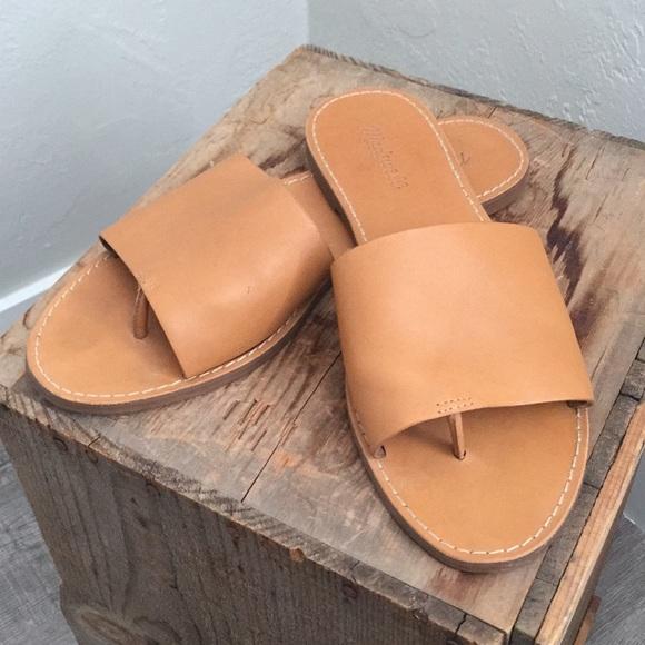 a3ad81d8bf2a Madewell Shoes | Boardwalk Post Slide Sandal Size 11 | Poshmark